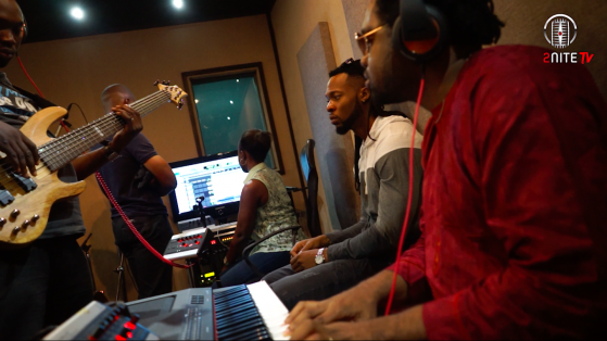 Flavour and Cobhams studio recording
